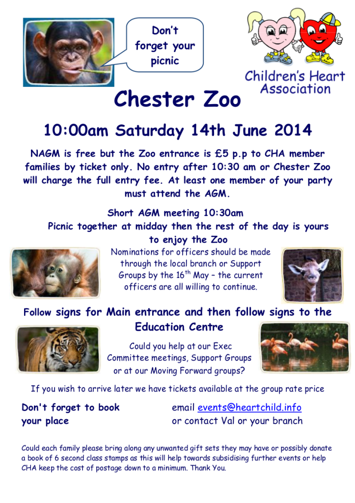 Chester Zoo AGM 2014