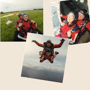 Jodie skydive